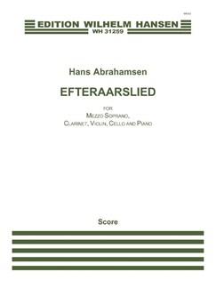 Hans Abrahamsen: Efteraarslied / Herbstlied (Score) Bog | Mezzosopran, Klarinet, Violin, Cello, Klaver Ensemble