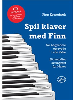 Finn Kornebæk: Spil klaver med Finn (Book/CD) Books and CDs | Piano