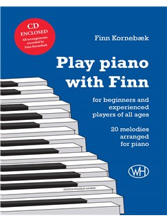 Finn Kornebæk: Play Piano With Finn (Piano/CD) Books and CDs | Piano