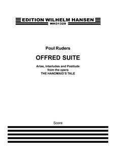 Poul Ruders: Offred Suite (Score) Books | Mezzo-Soprano, Orchestra