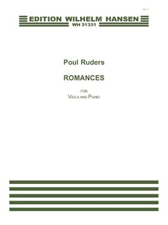 Poul Ruders: Romances (Score and Parts) Books | Viola, Piano Accompaniment