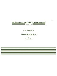Per Nørgård: Arabesques (Percussion Solo) Books | Percussion