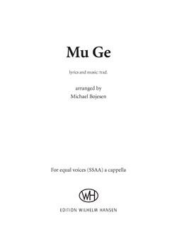 Michael Bojesen: Mu Ge (SSAA) Books | SSAA