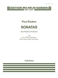 Poul Ruders: Sonatas (Score) Books | Wind Ensemble, Percussion, Harp, Piano Chamber