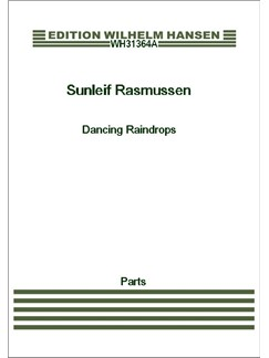 Sunleif Rasmussen: Dancing Raindrops  (Parts) Books | Clarinet, Cello, Piano Chamber