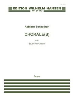 Asbjørn Schaathun: Chorale (s) (Score) Books | Orchestra