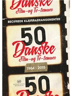 50 Danske Film- og TV-temaer 1964-2015 (Piano Solo) Bog | Klaver solo, Melodilinie og becifring