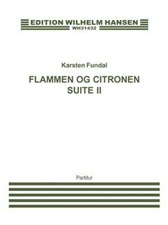 Karsten Fundal: Flammen Og Citronen Suite II (Score) Books | Orchestra, Percussion