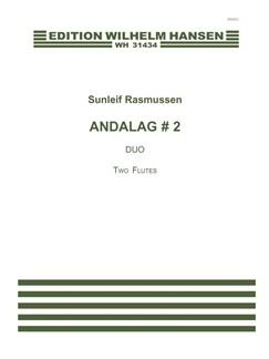 Sunleif Rasmussen: Andalag # 2 (Player's Score) Books | Flute, Flute