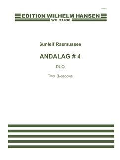 Sunleif Rasmussen: Andalag # 4 (Player's Score) Books | Bassoon (Duet)