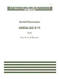 Sunleif Rasmussen: Andalag # 11 Books | Alto Flute, Bassoon