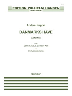 Anders Koppel: Danmarks Have (Parts) Books | Wind Instruments