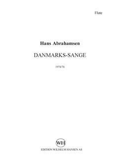 Hans Abrahamsen: Danmarks-Sange (Parts) Bog | Mezzosopran, Fløjte, Klarinet, Slagtøj, Klaver Ensemble, Bratsch