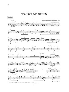 Pelle Gudmundsen-Holmgreen: No Ground Green (Parts) Books | SATB, String Quartet
