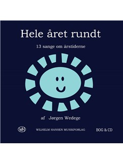 Jørgen Wedege: Hele Året Rundt (Book/CD) Books and CDs | Melody Line, Lyrics & Chords, Piano Accompaniment