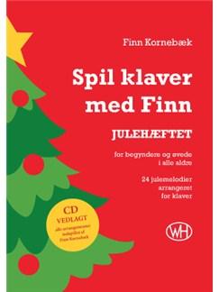 Finn Kornebæk: Spil klaver med Finn - JULEHÆFTET Bog | Klaver solo (med becifring)