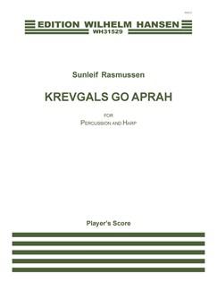 Sunleif Rasmussen: Krevgals Go Aprah (Player's Score) Books | Percussion, Harp