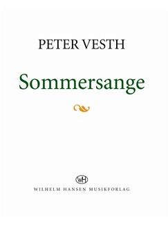 Peter Vesth: Sommersange (Songbook) Libro | Línea de Melodía, Texto y Acordes
