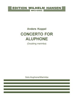Anders Koppel: Concerto for Aluphone (Doubling Marimba) Solo Part Books | Marimba