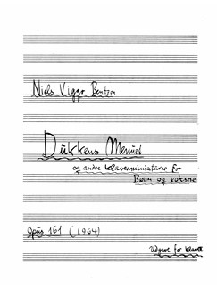 Niels Viggo Bentzon: Dukkens Menuet Op.161 Books | Piano