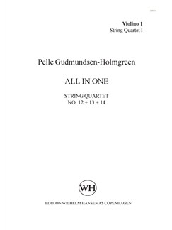 Pelle Gudmundsen-Holmgreen: All In One (Parts) Books | String Ensemble
