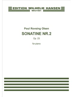 Poul Rovsing Olsen: Sonatine Nr.2 Op.23 (Piano) Books | Piano