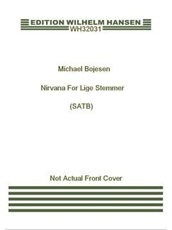 Michael Bojesen: Nirvana  (SATB) Books | SATB
