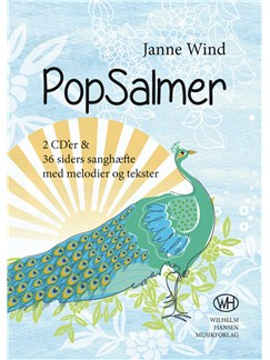 Janne Wind: PopSalmer (CD/Songbook) Books and CDs | Melody Line, Lyrics