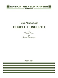 Hans Abrahamsen: Double Concerto for Violin, Piano and String Orchestra (Piano Solo) Books | Piano