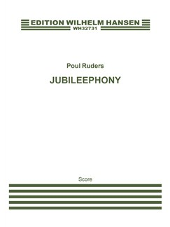 Poul Ruders: Jubileephony (Score) Books | Wind Ensemble, Piano Chamber