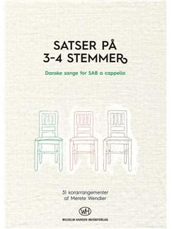 Merete Wendler: Satser på 3-4 Stemmer (SAB) Bog | SAB