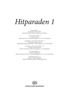 Hitparaden 1 (Vocal Score) Books | Voice, SATB