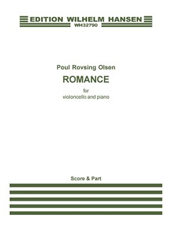 Poul Rosing Olsen: Romance (Score And Part) Bog | Cello, Klaver Ensemble