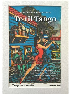 Astor Piazzolla / Hanne Mulvad (Arr.): To Til Tango (Score) Bog | Klaverduet