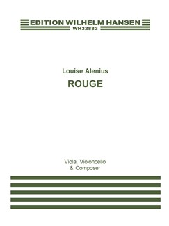 Louise Alenius: Rouge (Player's Score) Books | Viola, Cello