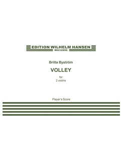 Britta Byström: Volley (Player's Score) Books | Violin (Duet)