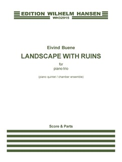 Eivind Buene: Landscape With Ruins (Score) Books | Violin, Cello, Piano Accompaniment