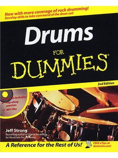 Drums For Dummies (2nd Edition) Books | Drums
