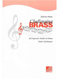 Malcolm Weale: Challenging Brass (Treble Clef) Books | Treble Clef Instruments