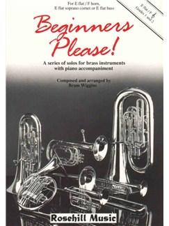 Bram Wiggins: Beginners Please! (Eb/F) Books | Piano Accompaniment, E Flat Instruments
