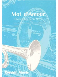 Edward Elgar: Mot D'Amour Books | Euphonium, Piano Accompaniment