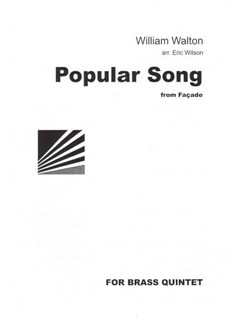 William Walton: Popular Song Books | Brass Quintet