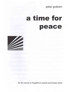 Peter Graham: A Time For Peace Books | Brass Ensemble, Cornet