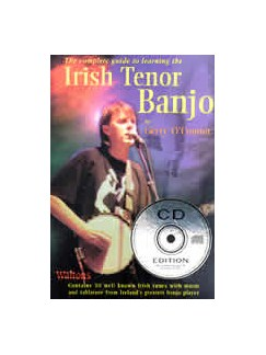 Gerry O'Connor: Complete Guide To Learning The Irish Tenor Banjo Books and CDs | Banjo