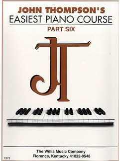 John Thompson's Easiest Piano Course: Part 6 Books | Piano