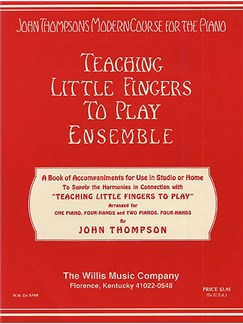 Teaching Little Fingers To Play Ensemble Livre | Piano (Duo)