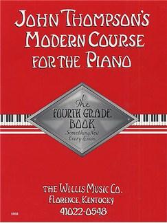 John Thompson's Modern Course For Piano: The Fourth Grade Book Books | Piano