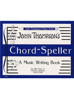 John Thompson's Chord Speller Books | Piano