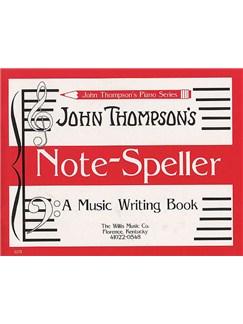 John Thompson's Note Speller Books | Piano