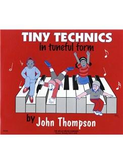 Tiny Technics In Tuneful Form Books | Piano